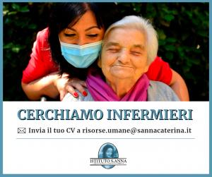 Fondazione Sant'Anna e Snata Caterina cercano infermieri